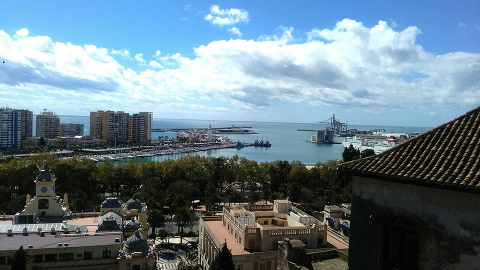 Weather in malaga in december